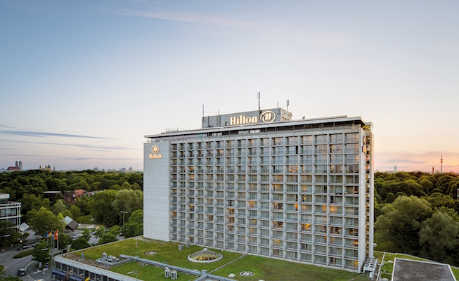 Hilton Hotel Munchen Park